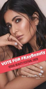 Kay Beauty nominated for Vogue Beauty Festival. VOTE NOW!