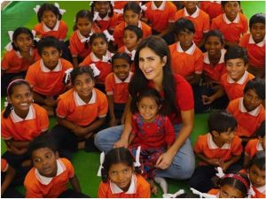 Katrina on a mission to educate girls